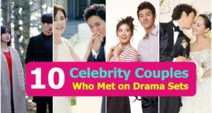 10 Korean Celebrity Couples Who Met on Drama Sets