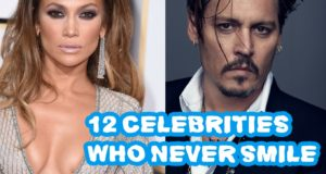 12 Celebrities Who Never Smile | Celebrity News | Celebrities Video Clips
