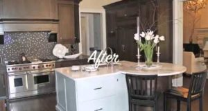Before & After with Celebrity Home Staging Decorator Lise Desormeaux | multi-million dollar home