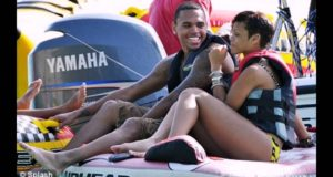 celebrities with family vacation on beaches