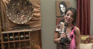 Hollie Strano Celebrity Wine Room at the Great Big Home and Garden Show