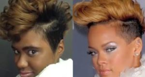 How to style a Rihanna inspired faux hawk – Celebrity Inspired Looks