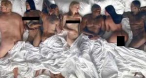 Kanye West's 'Famous' video depicts naked celebrities Trump, Taylor Swift and more