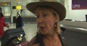 Nadine Dorries returns home after I'm A Celebrity jungle show
