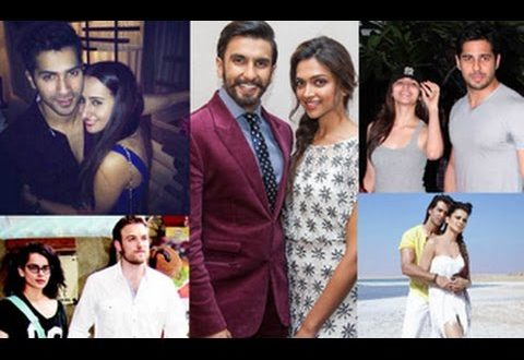 New Celebrity Couples: Who's Dating Who? | Ranbir, Katrina, Ranveer, Deepika, Hrithik, Kangana